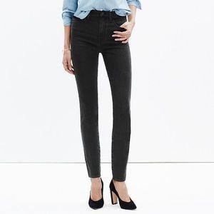 "Madewell 10"" high riser skinny skinny jeans sz 24"